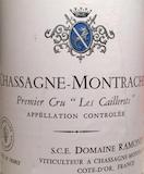 Domaine Ramonet Chassagne-Montrachet Premier Cru Les Caillerets label