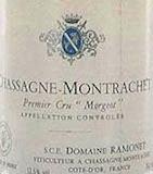 Domaine Ramonet Chassagne-Montrachet Premier Cru Morgeot label