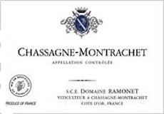 Domaine Ramonet Chassagne-Montrachet  label