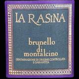 La Rasina Brunello di Montalcino  label