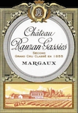 Château Rauzan-Gassies  Deuxième Cru label