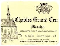 Domaine Raveneau Chablis Grand Cru Blanchot label
