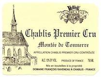 Domaine Raveneau Chablis Premier Cru Montée de Tonnerre label