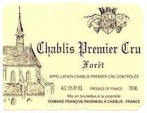 Domaine Raveneau Chablis Premier Cru Les Forêts label