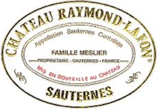Château Raymond-Lafon  label