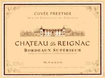 Château de Reignac  label