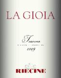 Riecine La Gioia label