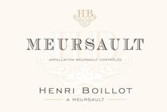 Maison Henri Boillot Meursault  label