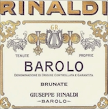 Giuseppe Rinaldi Barolo Brunate Le Coste label