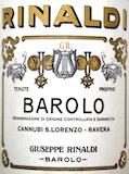 Giuseppe Rinaldi Barolo Cannubi San Lorenzo Ravera label