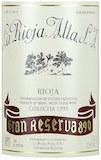 La Rioja Alta Rioja 890 Gran Reserva label