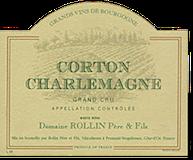 Domaine (Remi) Rollin Père et Fils Corton-Charlemagne Grand Cru  label