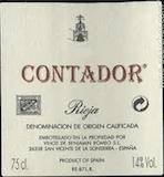 Contador (Benjamin Romeo) Rioja Contador label