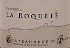 Domaine La Roquète Châteauneuf-du-Pape L'Accent de la Roquète label