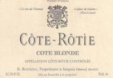 René Rostaing Côte Rôtie Côte Blonde label