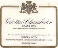 Domaine Joseph Roty Griotte-Chambertin Grand Cru  label