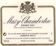 Domaine Joseph Roty Mazis-Chambertin Grand Cru  label
