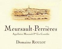 Domaine Roulot Meursault Premier Cru Perrières label