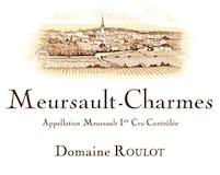 Domaine Roulot Meursault Premier Cru Charmes label