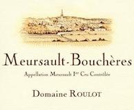 Domaine Roulot Meursault Premier Cru Les Bouchères label