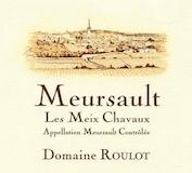 Domaine Roulot Meursault Meix Chavaux label