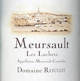 Domaine Roulot Meursault Les Luchets label