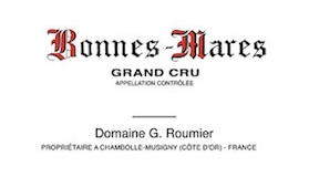Domaine Georges (or Christophe) Roumier Bonnes-Mares Grand Cru  label
