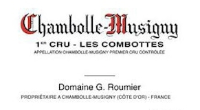 Domaine Georges (or Christophe) Roumier Chambolle-Musigny Premier Cru Les Combottes label