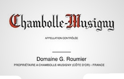 Domaine Georges (or Christophe) Roumier Chambolle-Musigny  label