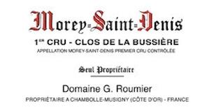 Domaine Georges (or Christophe) Roumier Morey-Saint-Denis Premier Cru Clos de la Bussière label