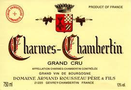 Domaine Armand Rousseau Charmes-Chambertin Grand Cru  label