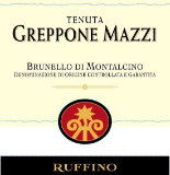 Tenuta Greppone Mazzi Brunello di Montalcino  label