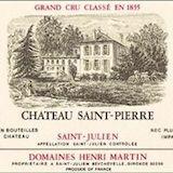 Château Saint-Pierre  Quatrième Cru label