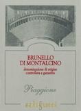 Podere Salicutti Brunello di Montalcino Piaggione label