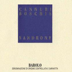 Luciano Sandrone  Barolo Cannubi Boschis label