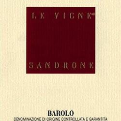Luciano Sandrone  Barolo Le Vigne label