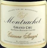 Étienne Sauzet Montrachet Grand Cru  label