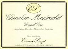 Étienne Sauzet Chevalier-Montrachet Grand Cru  label