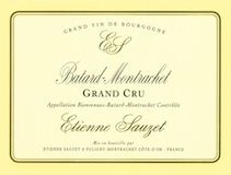 Étienne Sauzet Bâtard-Montrachet Grand Cru  label