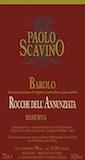 Paolo Scavino Barolo Rocche dell'Annunziata Riserva label