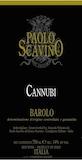 Paolo Scavino Barolo Cannubi label