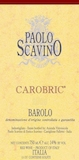 Paolo Scavino Barolo Carobric label