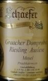 Willi Schaefer Graacher Domprobst Riesling Auslese label