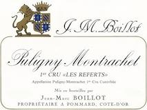 Domaine Jean-Marc Boillot Puligny-Montrachet Premier Cru Les Referts label