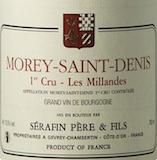 Domaine Sérafin Père et Fils Morey-Saint-Denis Premier Cru Les Millandes label
