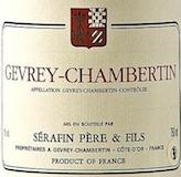 Domaine Sérafin Père et Fils Gevrey-Chambertin  label