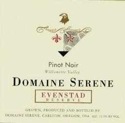 Domaine Serene Evenstad Reserve label