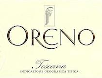 Tenuta Sette Ponti Oreno label