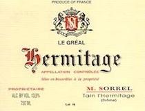 Domaine Marc Sorrel Hermitage Le Gréal label