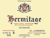 Domaine Marc Sorrel Hermitage  label